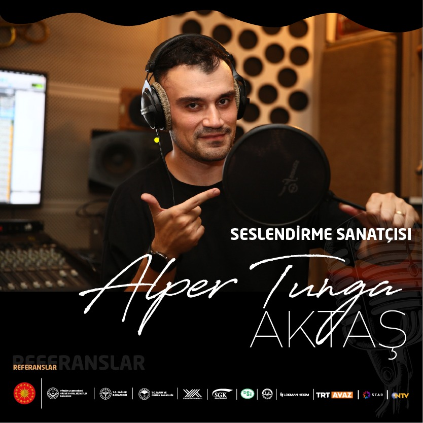 Alper is a voice over actor